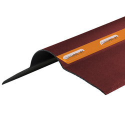 Corrapol Corrapol-BT Corrugated Bitumen Ridge Red 930mm - 14830 - from Toolstation