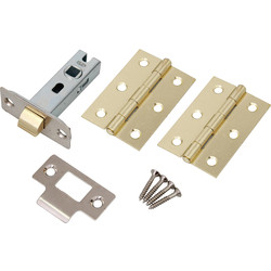 Latch Pack Electro Brass - 14896 - from Toolstation