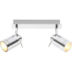 Spa Lighting Spa Bora IP44 LED 2 Bar Spotlight 2 x 4W - 14941 - from Toolstation