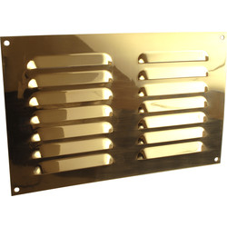 "Brass Effect Vent 9"" x 6"" - 14944 - from Toolstation"