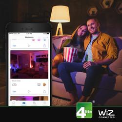 4lite WiZ LED Smart Strip Light - Wi-Fi/Bluetooth