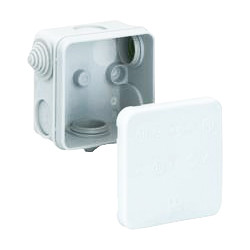 Junction Box IP55 113 x 113 x 58mm - 15207 - from Toolstation