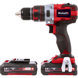 Einhell Einhell PXC TE CD18Li-I BL Power X-Change 18V Li-Ion Cordless Brushless Combi Drill 2 x 2.0Ah - 15223 - from Toolstation