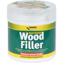 Everbuild Everbuild Multi Purpose Wood Filler 250ml White  - 15238 - from Toolstation