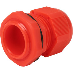 IMO Stag IMO Stag IP68 Cable Gland 25mm Red - 15352 - from Toolstation