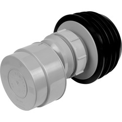 McAlpine McAlpine VP50-100 Air Admittance Valve Grey - 15362 - from Toolstation