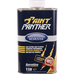 Barrettine Paint Panther Paint & Varnish Remover 1L - 15403 - from Toolstation