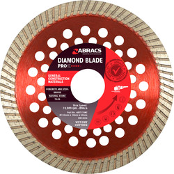 Abracs Abracs Pro General Purpose Diamond Blade 115 x 22mm - 15449 - from Toolstation