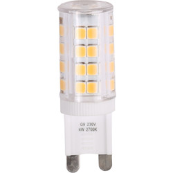 Meridian Lighting LED G9 Capsule Lamp 2.6W 275lm - 15518 - from Toolstation