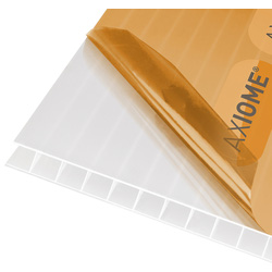 Axiome Axiome 10mm Polycarbonate Opal Twinwall Sheet 690 x 4000mm - 15540 - from Toolstation