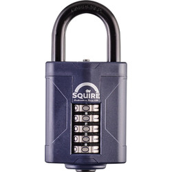 Squire Squire Combination Weatherproof Padlock 60 x 10 x 34mm - 15618 - from Toolstation