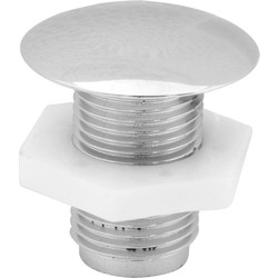 Cistern Stopper CP - 15651 - from Toolstation