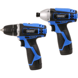Draper Draper 20849 10.8V Li-Ion Cordless Twin Pack 2 x 1.5Ah - 15773 - from Toolstation