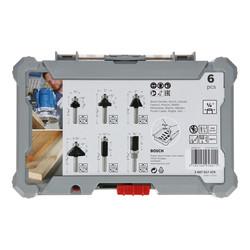 """Bosch Trim & Edging 1/4"""" Shank Router Bit Set"""