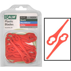 ALM ALM Trimmer Plastic Blades 20 Pack - 15836 - from Toolstation