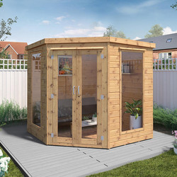 Mercia Mercia Corner Summerhouse 7' x 7' - 15888 - from Toolstation