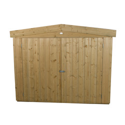 Forest Garden Shiplap Pressure Treated Large Outdoor Store