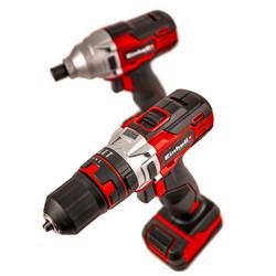 Einhell TE-TK 12 Li 12V Cordless Combi Drill & Impact Driver Twin Pack