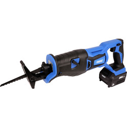 Draper Draper D20 20V Li-ion Brushless Cordless Reciprocating Saw 1 x 3.0Ah - 16241 - from Toolstation