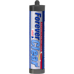 Everbuild Forever White Sanitary Sealant 310ml Clear - 16264 - from Toolstation
