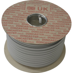 Doncaster Cables Doncaster Cables Twin & Earth Cable (6242Y) Grey 2.5mm2 x 100m Drum - 16270 - from Toolstation
