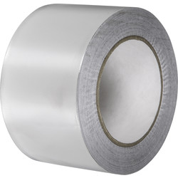 YBS Insulation YBS Aluminium Foil Tape 75mm x 50m - 16309 - from Toolstation
