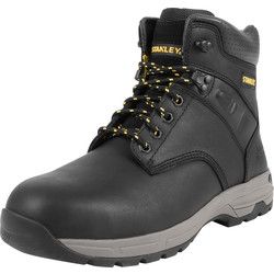 Stanley Stanley Impact Safety Boots Black Size 9 - 16320 - from Toolstation