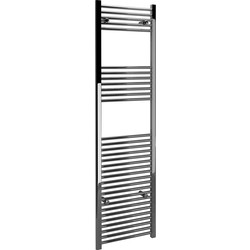 Kudox Kudox Chrome Flat Ladder Towel Radiator 1800 x 500mm 1754Btu - 16322 - from Toolstation