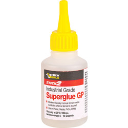 Everbuild Superglue 50g Med Visc - Thin - 16435 - from Toolstation