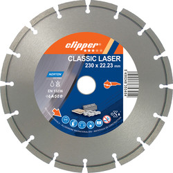 Norton Norton Specialist Laser Diamond Blade 230 x 22.2mm - 16506 - from Toolstation