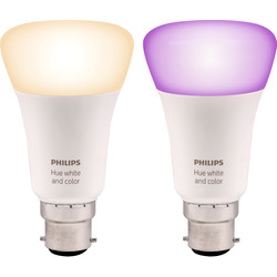 Philips Hue Philips Hue White and Colour Ambiance Lamp B22/BC - 16539 - from Toolstation