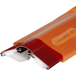 Corrapol Corrapol-BT Aluminium Ridge Bar Set Red 2m - 16570 - from Toolstation