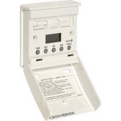 Greenbrook 7 Day Electronic Wall Switch Timer  - 16578 - from Toolstation