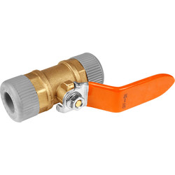 Unbranded Lever Valve 15mm - 16622 - from Toolstation