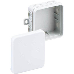 Unbranded Junction Box IP55 With 5 x 2.5mm2 Terminal Interlocking - 16638 - from Toolstation