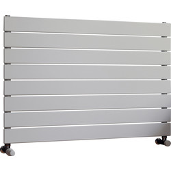 Ximax Ximax Oxford Single Horizontal Designer Radiator 595 x 900mm 2017Btu White - 16696 - from Toolstation