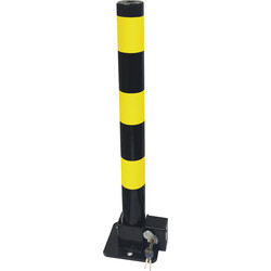 Folding Parking Post (H) 600 x (D) 57mm - 16712 - from Toolstation