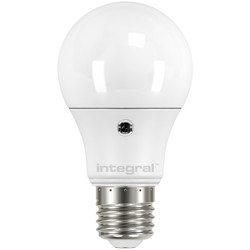 Integral LED Integral LED GLS Dusk Till Dawn Sensor 8.5W 806lm ES (E27) - 16792 - from Toolstation