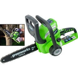 Greenworks Greenworks 40V Cordless Chainsaw Body Only - 16796 - from Toolstation