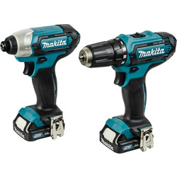 Makita CLX201AJ Li-Ion 10.8V Cordless Twin Pack
