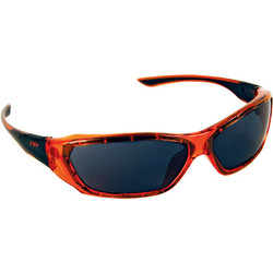 JSP JSP ForceFlex Safety Glasses Orange - Smoke Lens - 16821 - from Toolstation