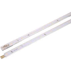 Meridian Lighting LED Strip Light Extension 2W 110lm 2 x 250mm - 16909 - from Toolstation