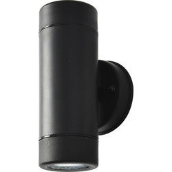 Coast Neso Up & Down Wall Light IP44 LED GU10 2 x 7W - 16927 - from Toolstation