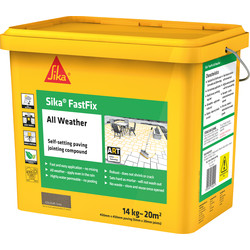 Sika Fastfix All Weather Jointing Compound Grey 15kg