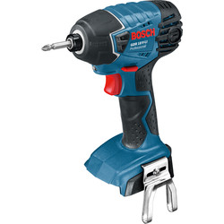 Bosch Bosch GDR 18 V-LI 18V Li-Ion Cordless Impact Driver Body Only - 17127 - from Toolstation