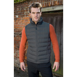 Work-Guard Urban Padded Gilet Medium Frost Grey - 17178 - from Toolstation