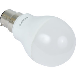 Philips LED A Shape Lamp 6W BC 470lm A+