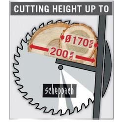 Scheppach HS510 3000W 505mm Log Saw