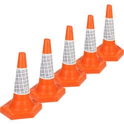 JSP JSP Traffic Cones 50cm - 17355 - from Toolstation