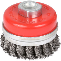Abracs Abracs Wire Twist Knot Cup Brush 75mm - 17385 - from Toolstation